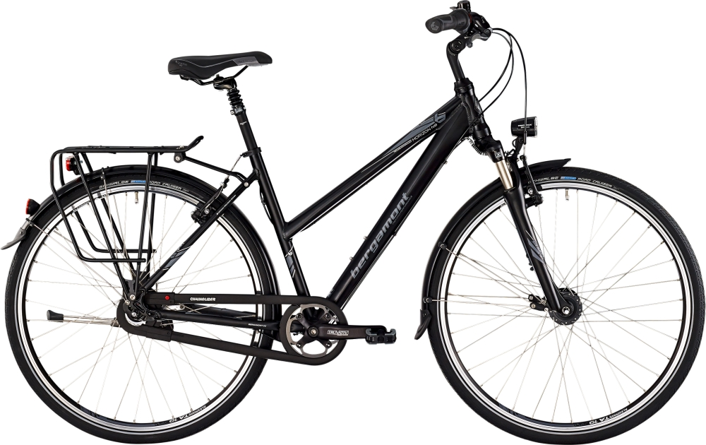 Bergamont Horizon N8 lady - Black / Grey / White (Matt) - 48cm - HiroBike Onlineshop