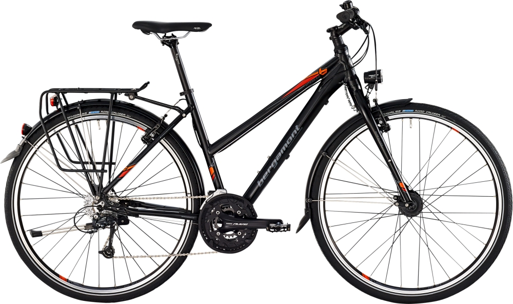 Bergamont Vitess 5.0 lady - Black / Orange / Grey (Matt) - 48cm - HiroBike Onlineshop