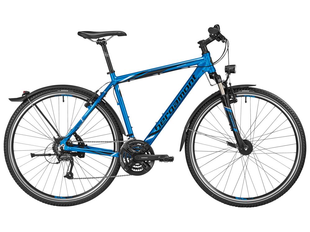 Bergamont Helix 4.0 EQ Gent - fjord blue / black / white (shiny) - 61cm - Bergamont Helix 4.0 EQ Gent - fjord blue / black / whit
