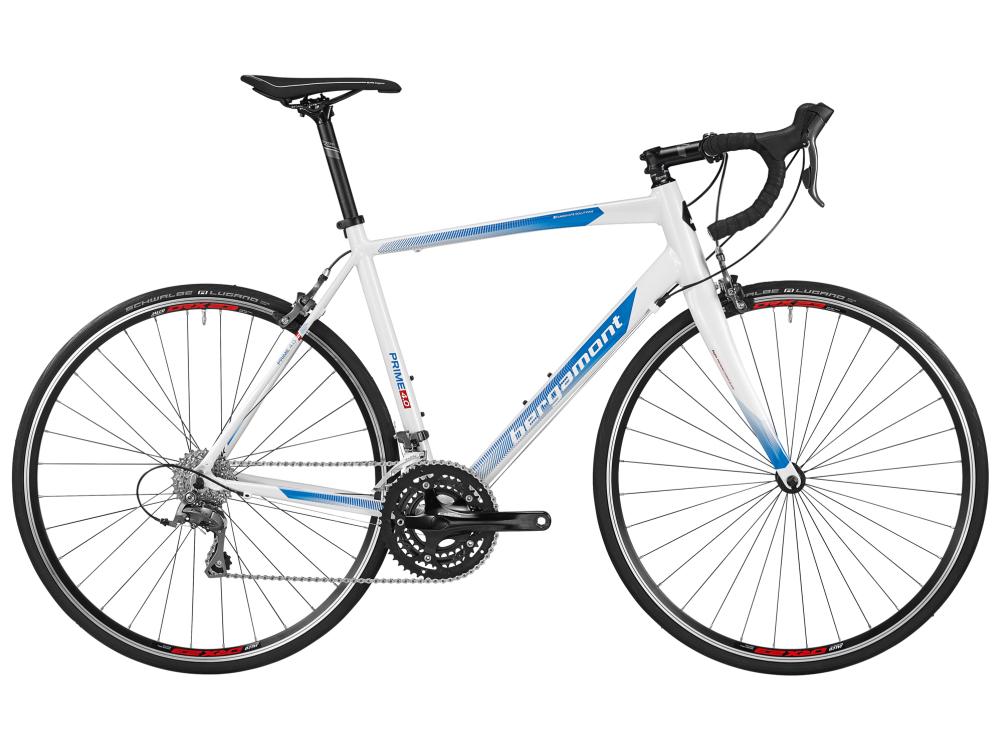Bergamont Prime 4.0  - pearl white / blue / red (shiny) - 59cm - Bergamont Prime 4.0  - pearl white / blue / red (shiny)