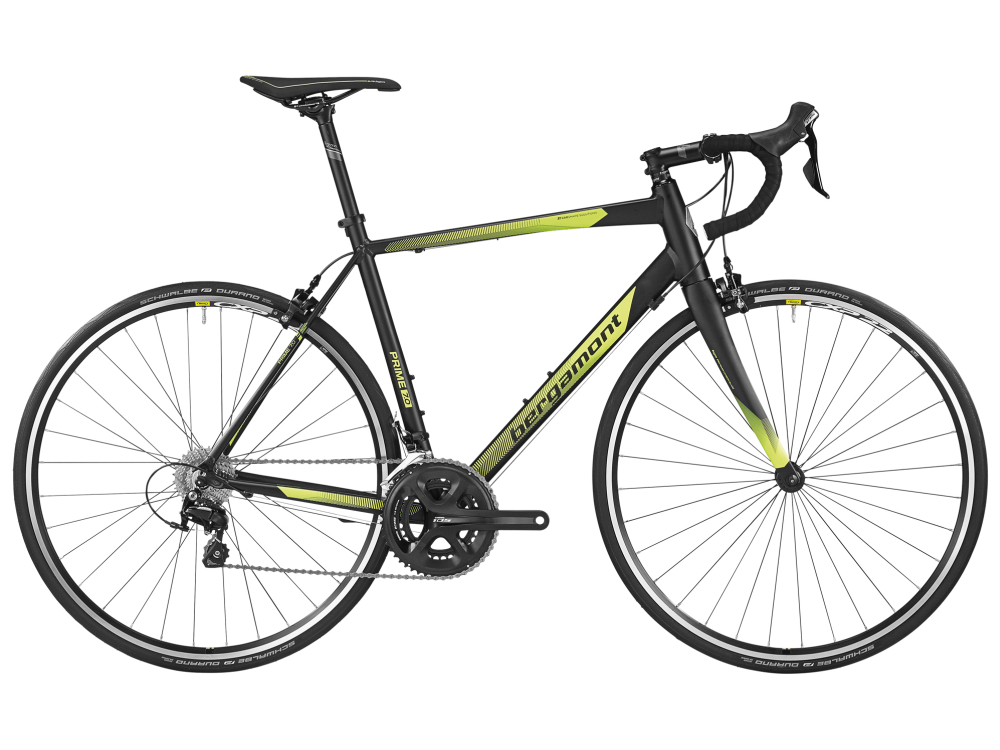 Bergamont Prime 7.0 - black / neon yellow (matt) - 59cm - Bergamont Prime 7.0 - black / neon yellow (matt) - 59cm