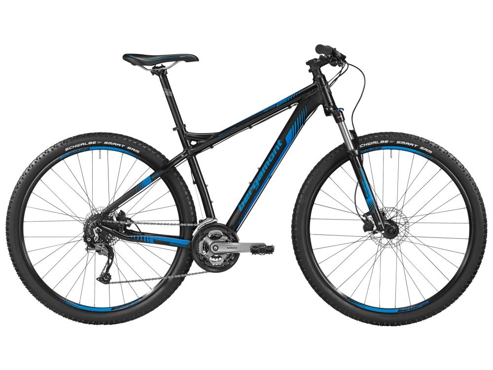 Bergamont Revox 4.0 - black - black / blue (matt) - XL - Bergamont Revox 4.0 - black - black / blue (matt) - XL