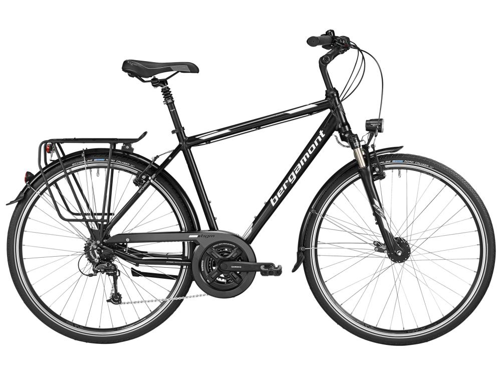 Bergamont Sponsor Gent - black / white (matt) - 56cm - Bergamont Sponsor Gent - black / white (matt) - 56cm be