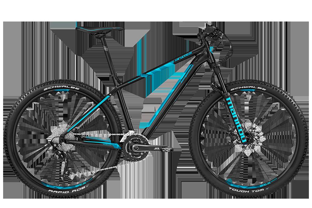 Bergamont BGM Bike Roxter Edition black/coral blue - black/coral blue (matt) - M - Bergamont BGM Bike Roxter Edition black/coral blue - bl