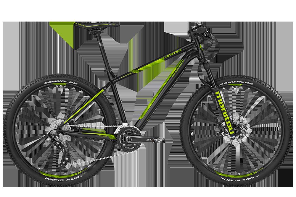 Bergamont BGM Bike Roxter Edition black/lime - black/lime (matt) - M - Bergamont BGM Bike Roxter Edition black/lime - black/li