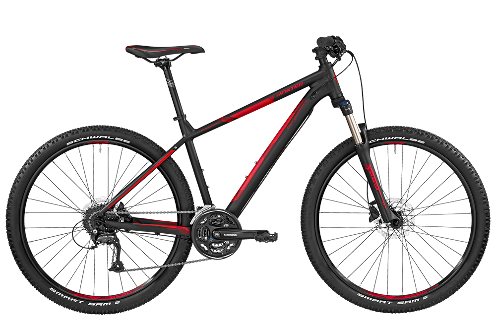 Bergamont BGM Bike Roxter 4.0 - black/red (matt) - S - Bergamont BGM Bike Roxter 4.0 - black/red (matt) - S be