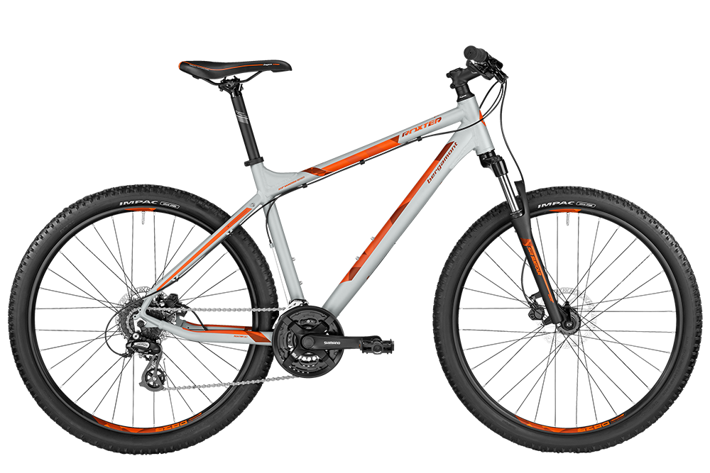 Bergamont BGM Bike Roxter 3.0 light grey/orange - light grey/orange (matt) - XL - Bergamont BGM Bike Roxter 3.0 light grey/orange - light