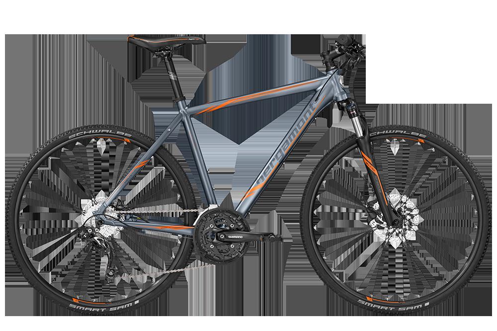 Bergamont BGM Bike Helix 7.0 - titan grey/orange (matt) - 61 cm - Bergamont BGM Bike Helix 7.0 - titan grey/orange (matt)