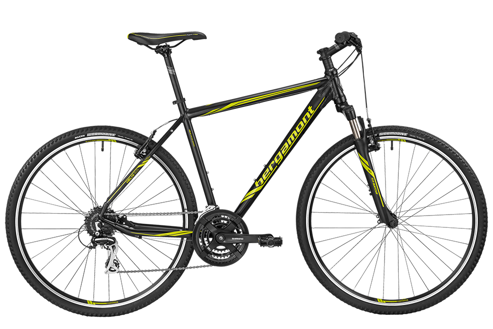 Bergamont BGM Bike Helix 3.0 Gent - black/lime (matt) - 56 cm - Bergamont BGM Bike Helix 3.0 Gent - black/lime (matt) -