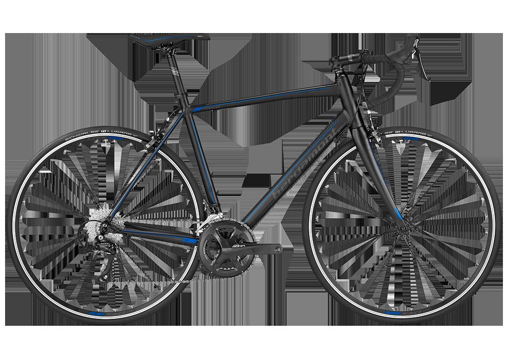 Bergamont BGM Bike Prime 4.0 - black/grey/blue (matt) - 50 cm - Bergamont BGM Bike Prime 4.0 - black/grey/blue (matt) -
