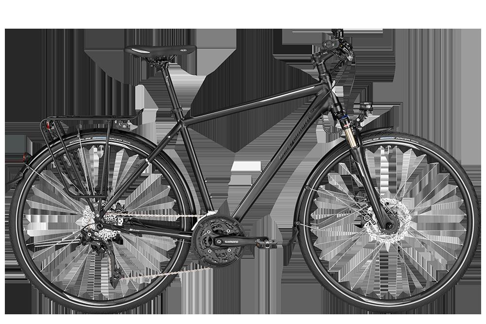 Bergamont BGM Bike Horizon 7.0 Gent - black/silver (matt/shiny) - 60 cm - Bergamont BGM Bike Horizon 7.0 Gent - black/silver (mat