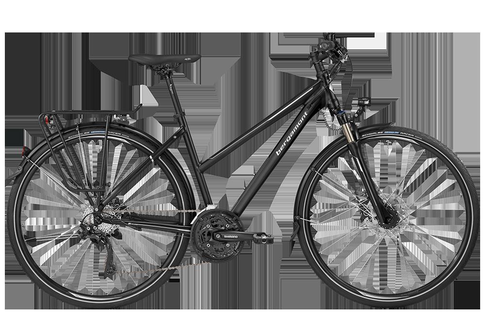 Bergamont BGM Bike Horizon 7.0 Lady - black/silver (matt/shiny) - 56 cm - Bergamont BGM Bike Horizon 7.0 Lady - black/silver (mat