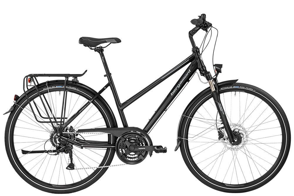 Bergamont BGM Bike Sponsor Disc Lady - black/silver (matt) - 52 cm - Bergamont BGM Bike Sponsor Disc Lady - black/silver (ma
