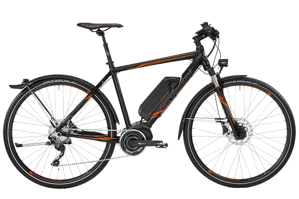 Bergamont BGM Bike E-Helix 7.0 Gent - black/orange (matt) - 61 cm - HiroBike Onlineshop