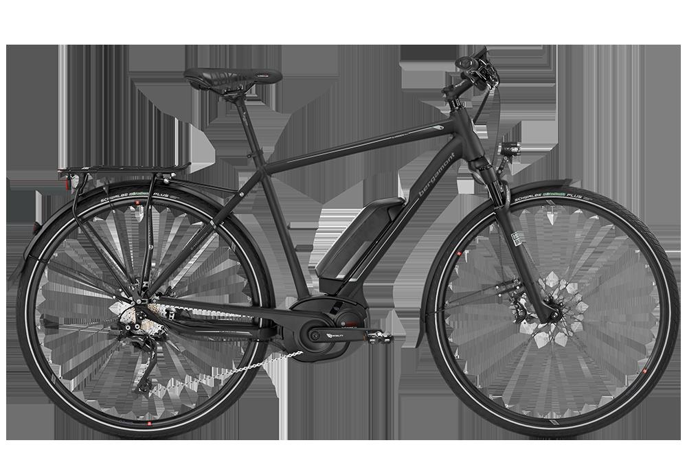 Bergamont BGM Bike E-Horizon 9.0 Gent - black/anthracite/silver (matt/shiny) - 56 cm - HiroBike Onlineshop
