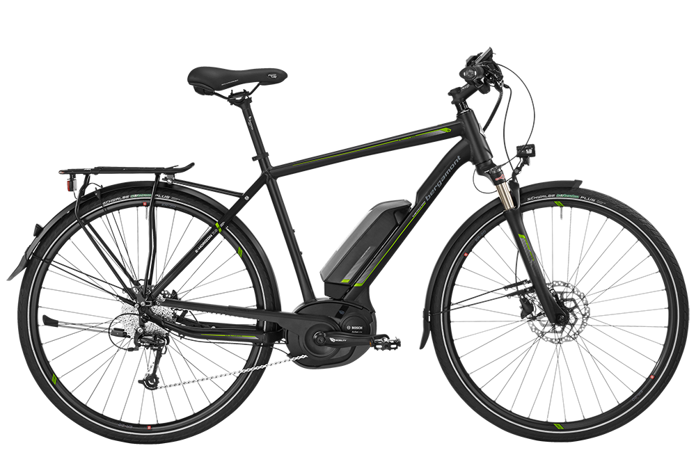 Bergamont BGM Bike E-Horizon 7.0 Gent - black/lime (matt/shiny) - 56 cm - HiroBike Onlineshop