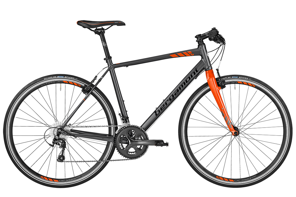 Bergamont BGM Bike Sweep 6.0 - dark silver/orange (matt/shiny) - 48 cm - Bergamont BGM Bike Sweep 6.0 - dark silver/orange (matt