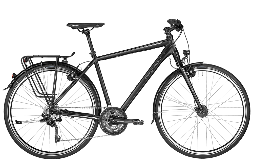 Bergamont BGM Bike Vitess 7.0 Gent - black/grey (matt) - 52 cm - Bergamont BGM Bike Vitess 7.0 Gent - black/grey (matt)