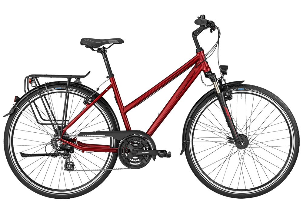 Bergamont BGM Bike Horizon 3.0 Lady red - red/black (matt) - 44 cm - Bergamont BGM Bike Horizon 3.0 Lady red - red/black (ma