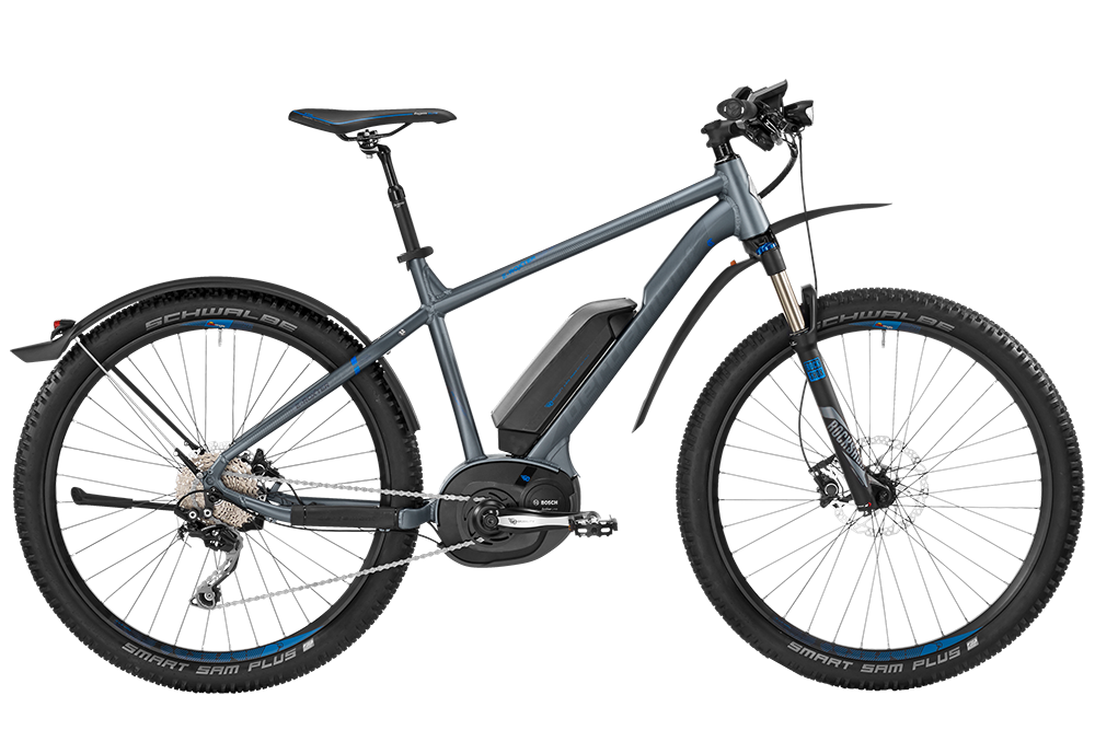Bergamont BGM Bike E-Roxter 7.0 EQ - grey /blue (matt) - M - HiroBike Onlineshop