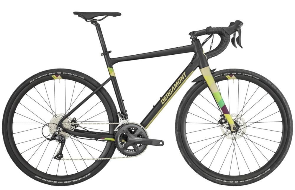 Bergamont Grandurance 5 - black/goldish green (matt) - 49 cm - Bergamont Grandurance 5 - black/goldish green (matt) - 49 cm