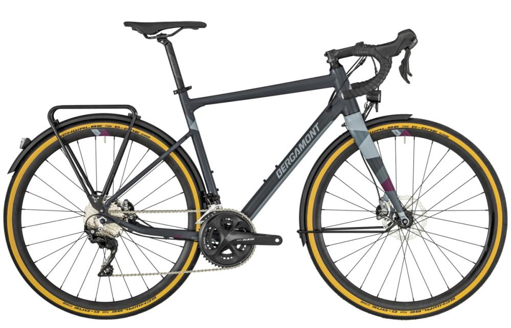 Bergamont Grandurance RD 7 - grey/violet (matt) - 55 cm - Bergamont Grandurance RD 7 - grey/violet (matt) - 55 cm