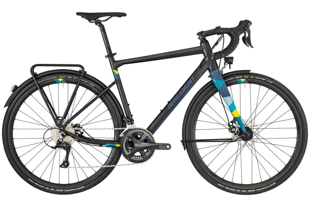Bergamont Grandurance RD 5 - black/bluegrey (matt) - 61 cm - Bergamont Grandurance RD 5 - black/bluegrey (matt) - 61 cm