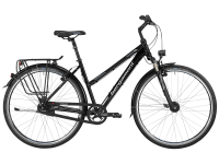 Bergamont Horizon N8 Lady - black / anthracite / silver (shiny) - 48cm - Fahrradladen in Berlin » Fahrrad-Krause.de