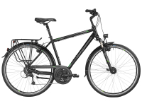 Bergamont Sponsor Tour Gent - black / grey / green (matt) - 48cm - Fahrradladen in Berlin » Fahrrad-Krause.de