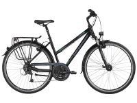 Bergamont Sponsor Tour Lady - black - black / grey / green (matt) - 44cm - Fahrradladen in Berlin » Fahrrad-Krause.de