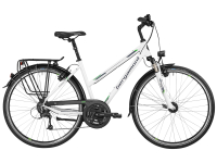 Bergamont Sponsor Tour Lady - white - pearl white / grey / green (shiny) - 44cm - Fahrradladen in Berlin » Fahrrad-Krause.de