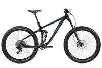 Bergamont BGM Bike Trailster 7.0 Plus - black/blue (shiny) - M - Mile-Multisport