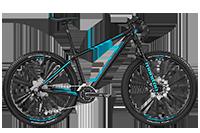 Bergamont BGM Bike Roxter Edition black/coral blue - black/coral blue (matt) - L - Fahrradladen in Berlin » Fahrrad-Krause.de