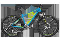 Bergamont BGM Bike Roxter 5.0 - cyan/neon yellow (matt) - L - Fahrradladen in Berlin » Fahrrad-Krause.de