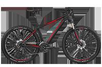 Bergamont BGM Bike Roxter 4.0 - black/red (matt) - L - Fahrradladen in Berlin » Fahrrad-Krause.de