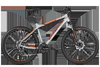 Bergamont BGM Bike Roxter 3.0 light grey/orange - light grey/orange (matt) - L - Fahrradladen in Berlin » Fahrrad-Krause.de