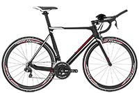 Bergamont BGM Bike Prime RS TRI - black/white/red (matt/shiny) - 57 cm - Fahrradladen in Berlin » Fahrrad-Krause.de