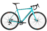 Bergamont BGM Bike Prime CX Sport - coral blue/orange (matt) - 58 cm - Mile-Multisport