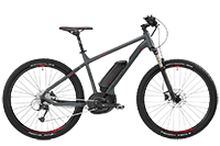 Bergamont BGM Bike E-Roxter 6.0 - grey/red (matt) - M - Mile-Multisport