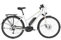 Bergamont BGM Bike E-Horizon 7.0 Lady - white/lime (shiny) - 52 cm - Mile-Multisport
