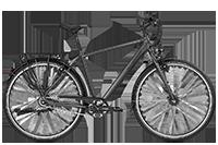 Bergamont BGM Bike Vitess N8 Gent - dark silver/silver (matt) - 52 cm - Fahrradladen in Berlin » Fahrrad-Krause.de