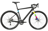 Bergamont Grandurance CX 6.0 - black/dark silver/turquoise (matt/shiny) - 49 cm - Zweirad Homann