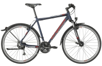 Bergamont Helix 4.0 EQ Gent - dark bluegrey/grey/red (matt) - 48 cm - Zweirad Homann