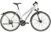 Bergamont Helix 4.0 EQ Lady - white/dark silver/red (matt) - 46 cm - Zweirad Homann