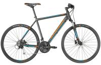 Bergamont Helix 5.0 Gent - dark silver/petrol/orange (matt) - 48 cm - Zweirad Homann