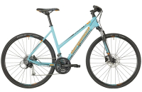 Bergamont Helix 5.0 Lady - coral blue/grey/orange (matt) - 46 cm - Zweirad Homann