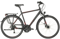 Bergamont Horizon 4.0 Gent - black/red/grey (matt) - 48 cm - Zweirad Homann