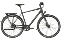 Bergamont Vitess N8 Belt Gent - black/dark silver (matt) - 52 cm - Zweirad Homann