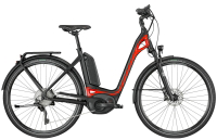 Bergamont E-Ville XT - black/red (matt/shiny) - 48 cm - Zweirad Homann