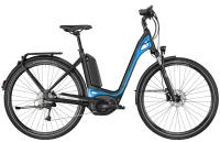 Bergamont E-Ville Deore - black/blue (matt/shiny) - 48 cm - Zweirad Homann